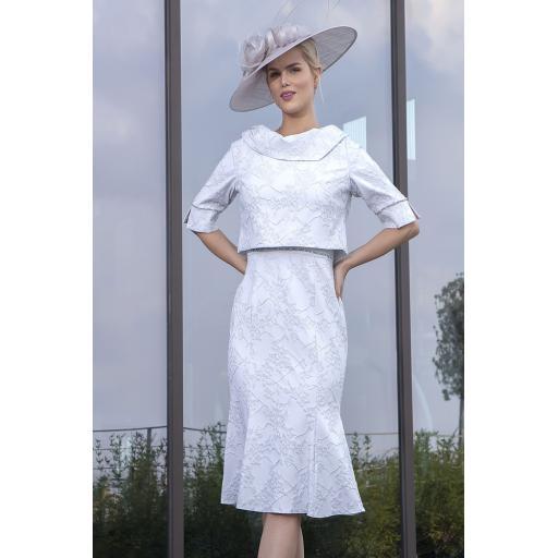 Lizabella - Silver Dress/Bolero