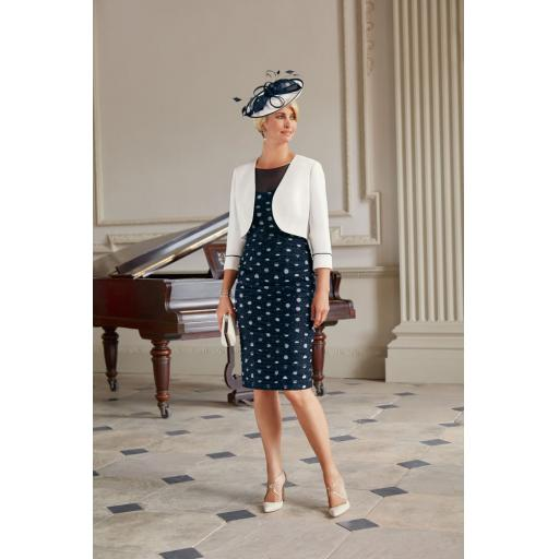 Condici - Navy/cream spot